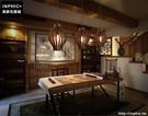 INPHIC- 東南亞風格創意實木藝術餐廳茶樓茶室吧台泰日式個性單頭復古吊燈_S197C
