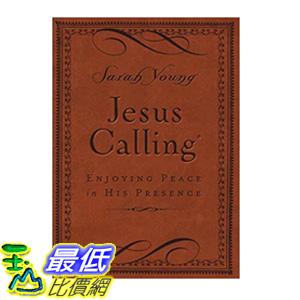 [106美國直購] 2017美國暢銷書 Jesus Calling:Enjoying Peace in His Presence