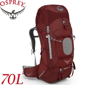 【OSPREY 美國 AETHER 70L 紅M 登山背包】AETHER 70/登山包/登山/健行/自助旅行/雙肩背包/露營