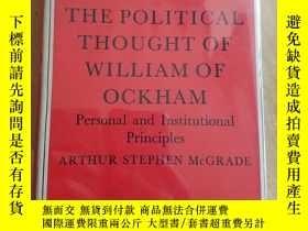 二手書博民逛書店The罕見Political Thought of Willia
