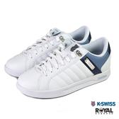 K-swiss Lundahl 白色 皮質 休閒運動鞋 男款NO.B1391【新竹皇家 02533-937】