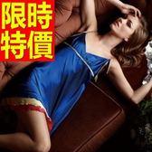 真絲質睡衣套裝(裙裝)-可愛超夯質感風靡女居家服56h36[時尚巴黎]