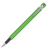瑞士卡達CARAN D'ACHE 849 鋼筆螢光綠(EF極細尖)