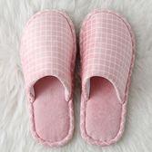 棉拖鞋秋冬季棉拖鞋女士室內可愛男厚底居家居家用包跟情侶冬天保暖防滑時光之旅
