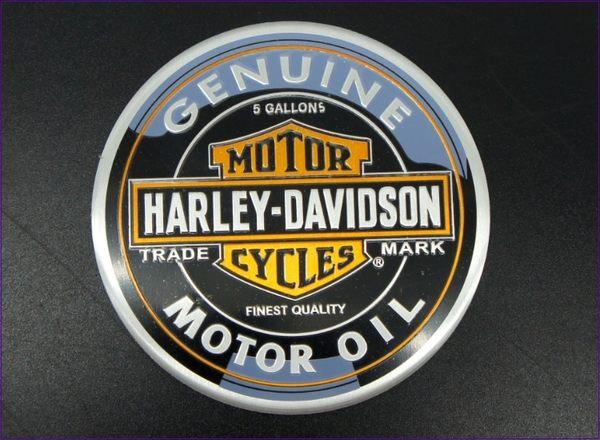 239A244   鋁標 圓形哈雷 單入    標誌改裝  車標貼  車身貼飾 車身裝飾 機車貼飾 汽車貼飾 重機貼飾