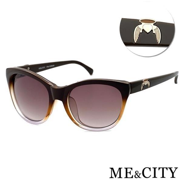 【南紡購物中心】【SUNS】ME&CITY 永恆之翼時尚太陽眼鏡 義大利設計款 抗UV400 (ME 120031 J021)
