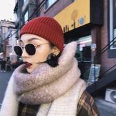 原宿小圓框墨鏡女潮圓臉ins經典港風街拍百搭嘻哈太陽眼鏡網紅款『櫻花小屋』