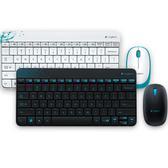 全新 羅技 Logitech 無線滑鼠鍵盤組 MK240 白/黑 精巧 舒適 流線型外觀