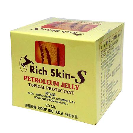 Rich Skin-S 膚寶-S 凡士林潤膚膏 80ml【瑞昌藥局】007185
