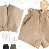 大童可-可愛花苞鬆緊腰帶棉紗短褲-3色(270071)★水娃娃時尚童裝★