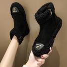 雪地靴 加厚棉女毛毛鞋2020冬季新款學院風馬丁靴加絨棉鞋百搭短靴