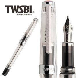 臺灣 TWSBI 三文堂 VAC mini 透黑筆桿負壓上墨鋼筆 /支