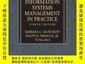 二手書博民逛書店Information罕見Systems Management