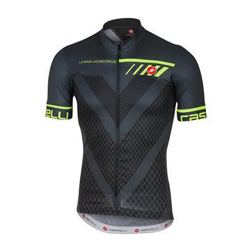 CASTELLI VELOCISSIMO JERSEY FZ 舒適布料 高透氣 自行車車衣