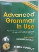 【書寶二手書T1/原文小說_DP2】Advanced Grammar in Use Book with Answers and Interactive..