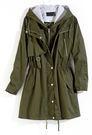 週年慶同步【MASTINA】假兩件式外套-綠