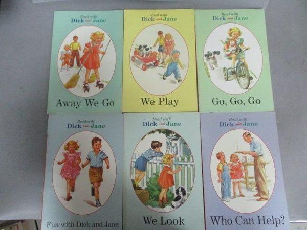 【書寶二手書T1/語言學習_PNT】Read with Dick and Jane-We Play_We Look等_共6本合售