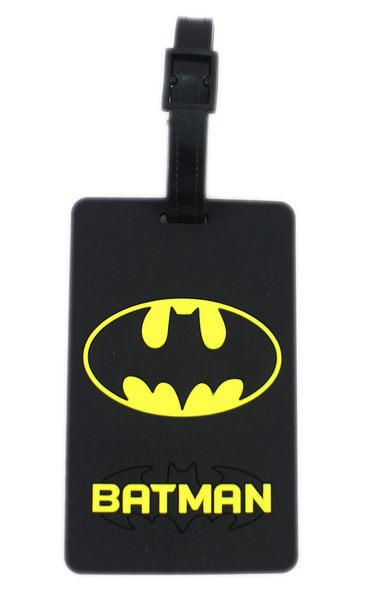 【卡漫城】 蝙蝠俠 行李吊牌 ~ 名牌套 行李箱 書包 識別 姓名 掛牌 背包 吊飾 Batman DC漫畫