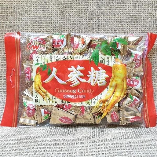 青右 韓國人蔘糖 160g【8801204307207】(韓國糖果)