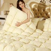 羽絨被 寢具-全棉加厚溫暖蓬鬆白鵝絨雙人棉被3色72aa2[時尚巴黎]