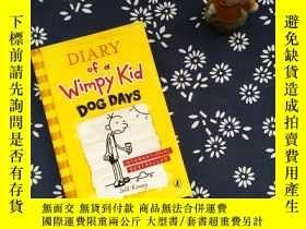 二手書博民逛書店Diary罕見of a Wimpy Kid DOG DAYSY2