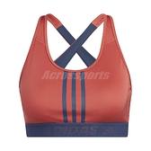 adidas 運動內衣 Dont Rest 3-Stripes Bra 紅 藍 女款 背心 運動休閒 【ACS】 GM2848