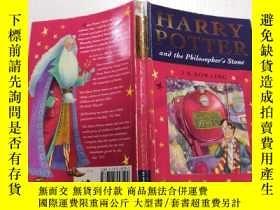 二手書博民逛書店Harry罕見potter and the philosopher s stone : 哈利波特與魔法石.Y2