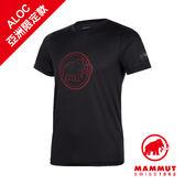 Mammut 長毛象 QD AEGILITY T-Shirt AF Men 彈性排汗透氣短袖 男款 黑/紅寶石 #1017-10062