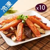 日式風味蟹棒250G±5%/包(魚漿製品)x10【愛買冷凍】