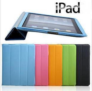 免運ipad 4套 new iPad2 3 4 Smart Cover case超薄保護套外殼