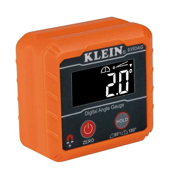 Klein 電子水平儀 935DAG 0-90/0-180 量角器 角度計 IP42 Digital Electronic Level and Angle Gauge [9美國直購]