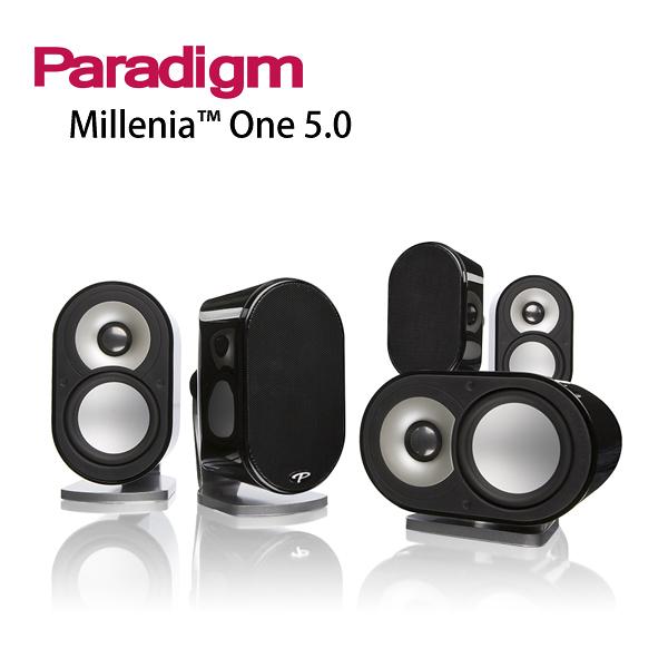 【竹北勝豐群音響】Paradigm Millenia One 5.0 劇院組合  柔和流暢又氣勢