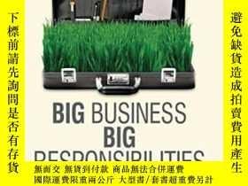 二手書博民逛書店Big罕見Business Big Responsibilities: From Villains To Visi