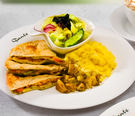 墨西哥鮪魚薄餅套餐(附60元飲品)...