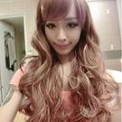 高仿真超自然整頂假髮【MA118】挑染少女時代動感混色長髮☆雙兒網☆