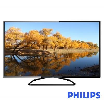 贈送 基本安裝 PHILIPS飛利浦 48吋 LED液晶顯示器+視訊盒( 48PFH5250 )
