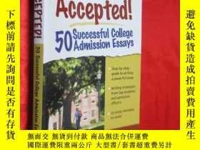 二手書博民逛書店Accepted!罕見50 Successful College