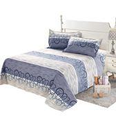 床單 家紡老粗布床單單件 100%純棉加厚雙人被單全棉布1.5米1.8M床【美物居家館】