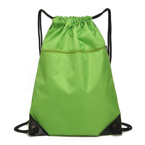防水束口袋抽繩後背包 男女戶外大容量旅遊旅行包跑步運動收納包  貝芙莉