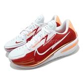 Nike 籃球鞋 Air Zoom G.T. Cut EP 紅 白 黃 低筒 男鞋 麥當勞 【ACS】 CZ0176-100