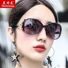 太陽鏡 太陽鏡墨鏡新款墨鏡女正韓潮復古原宿風防紫外線圓臉眼睛女式眼鏡