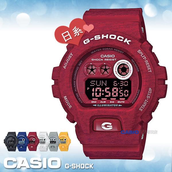 CASIO 卡西歐 手錶專賣店 GD-X6900HT-4 JF G-SHOCK 紅 電子錶 日本版 橡膠錶帶 閃動響報 耐衝擊構造