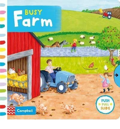 Busy Farm 忙碌的農場 硬頁操作拉拉書