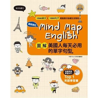圖解美國人每天必用的單字句型+MP3Mind Map English
