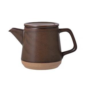 日本KINTO CERAMIC LAB茶壺500ml-共2色棕色