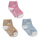 【奇買親子購物網】酷咕鴨KU.KU.圓點兒童襪(藍/粉/咖啡)
