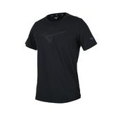MIZUNO 男短袖T恤(免運 吸汗速乾 慢跑 路跑 運動上衣 美津濃≡體院≡ 32MA0024