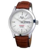 【僾瑪精品】BALL波爾 EngineerII 天文台認證機械腕錶-白x咖啡/NM2026C-LCJ-WH