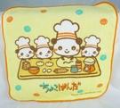 【震撼精品百貨】Chocopanda 麵包師傅廟會園丁熊貓~小方巾『麵包』