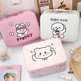 可愛大容量化妝包超大女便攜收納盒手提箱【愛物及屋】
